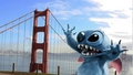 stitch in San Francisco - lilo-and-stitch fan art