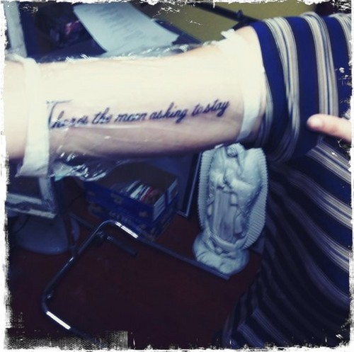 Frances Bean Cobain images tattoo2 wallpaper and ...