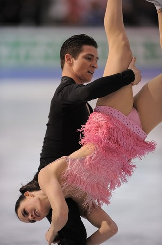 Tessa Virtue & Scott Moir wallpaper called tessa virtue & scott moirGPF practice — december 9, 2011