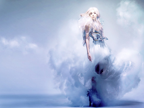Lady Gaga wallpaper probably containing a snowbank and an igloo entitled ►LaDy GaGa by DaVe◄