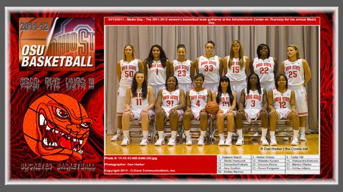 2011-12 OSU WOMENS baloncesto TEAM