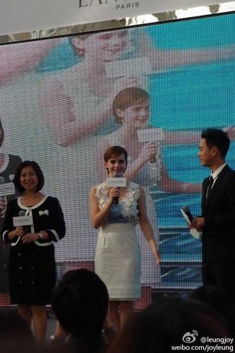 2011-Lancôme Press Conference in Hong Kong [December 7th]