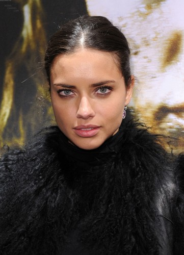 Adriana Lima attends the Nomad Two Worlds Russell James Exhibit Opening