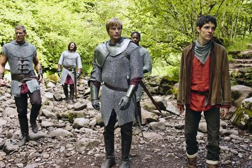 Aithusa - Arthur, Merlin and the Knights