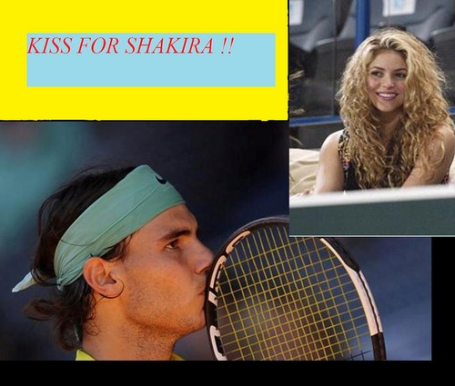 And Nadal will end after wedding in contact with शकीरा ?