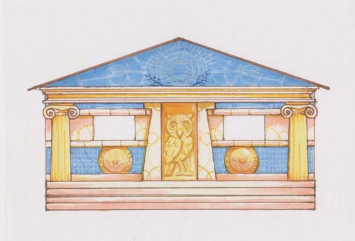 Athena's cabin #6