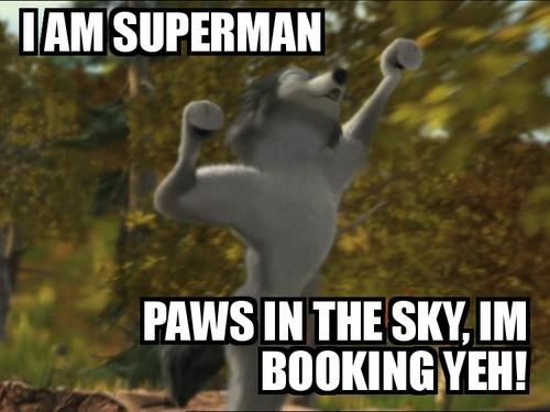 Awoooooo SuperHumphrey!