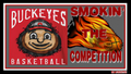 BUCKEYES basquetebol, basquete SMOKIN' THE COMPETITION