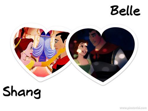 Belle/Shang fondo de pantalla