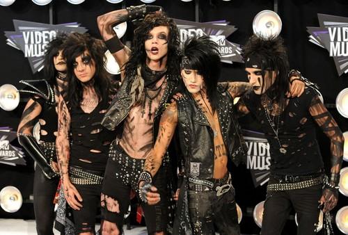 Black Veil Brides at MTV