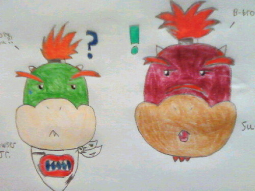 Bowser Jr. & Suade Koopa