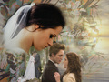 Breaking Dawn part 1, Bella and Edward - breaking-dawn wallpaper