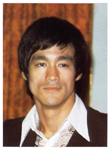 Bruce lee haircut