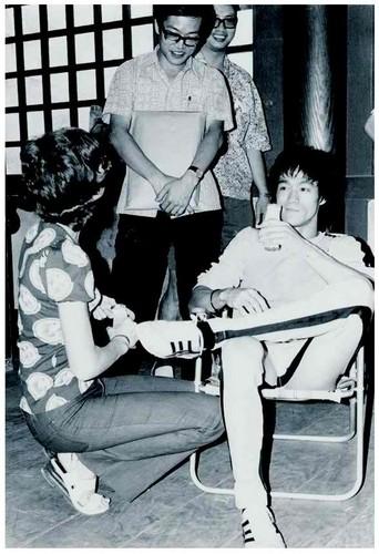 Bruce+Linda,Game of Death,behind the scenes