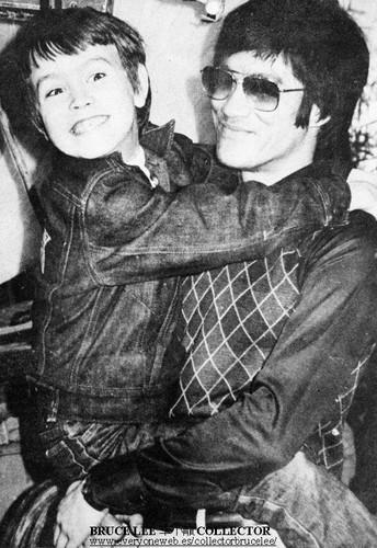 Bruce with Brandon