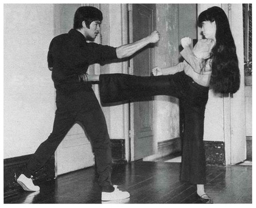 Bruce with Sylvia Lai