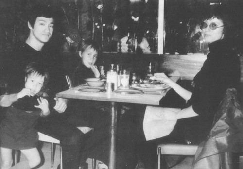 Bruce with his family