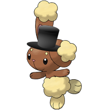 Buneary with hat