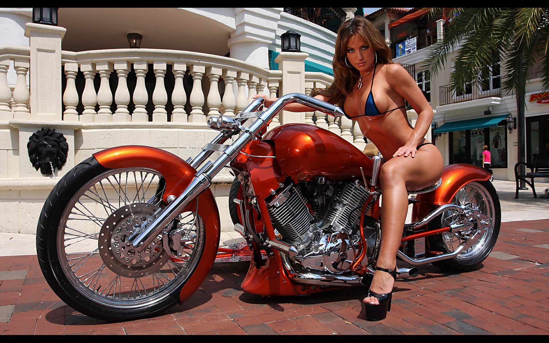 Custom Chopper Motorcycles and Girls 1920 x 1200 · 914 kB · jpeg