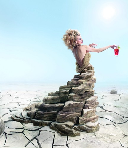 Campari Calendar 2012 Photoshoot