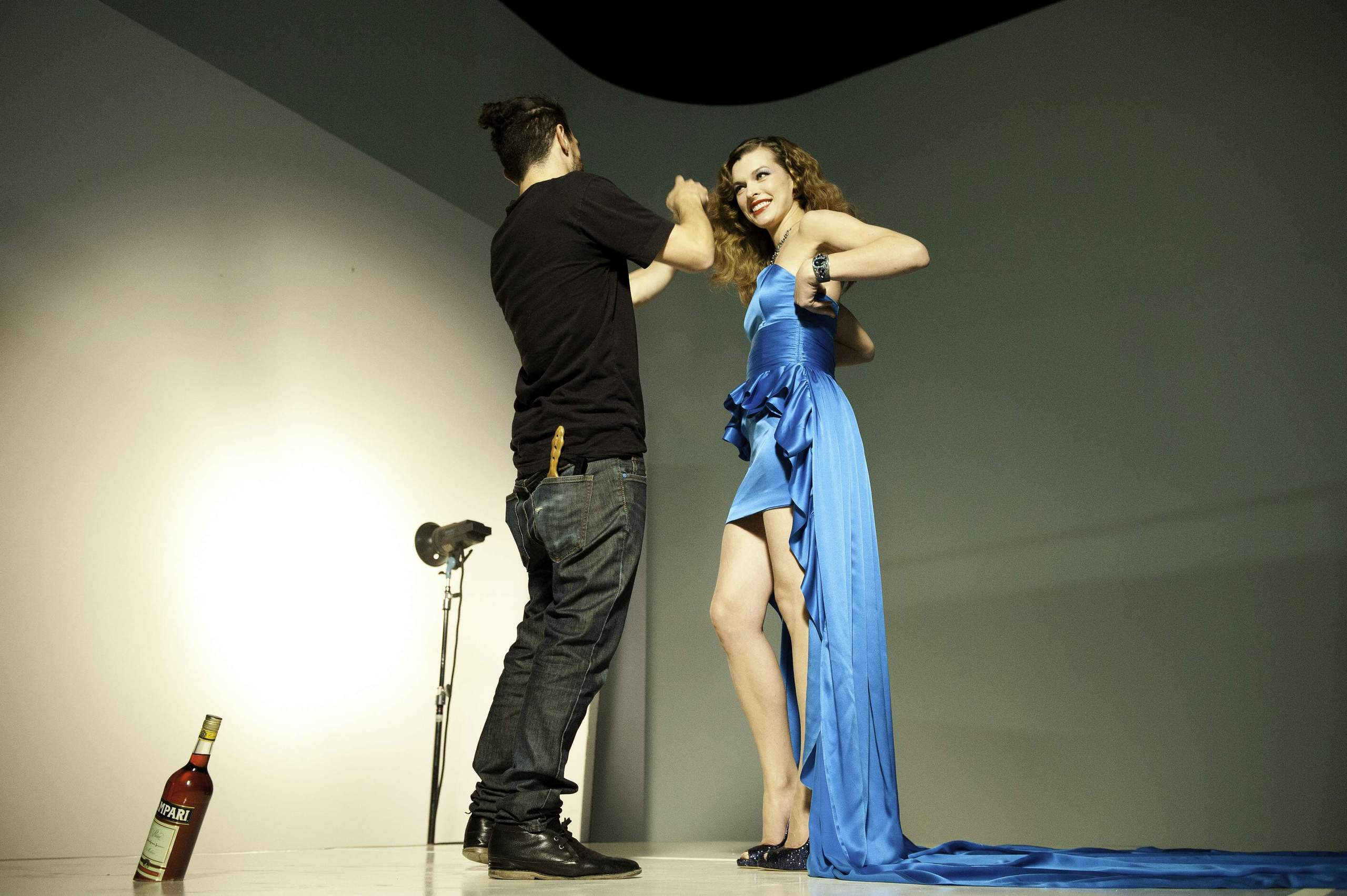 Campari Calendar Photoshoot - Behind the Scenes