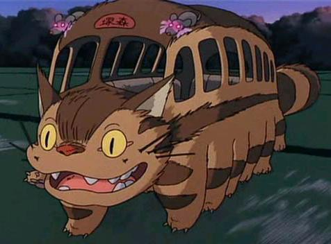 My Neighbor Totoro fond d'écran entitled Cat Bus