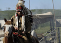 Chief Many Horses (Wes Studi) in Episode 6