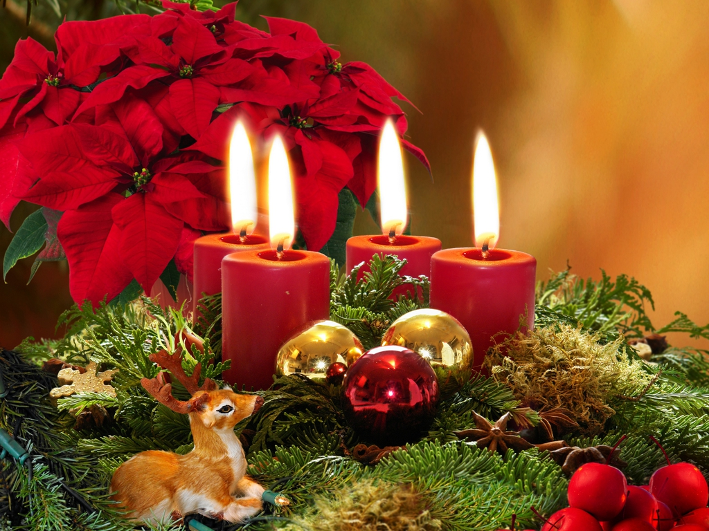 Christmas wallpaper christmas wallpaper 27669579 fanpop for Decoration image