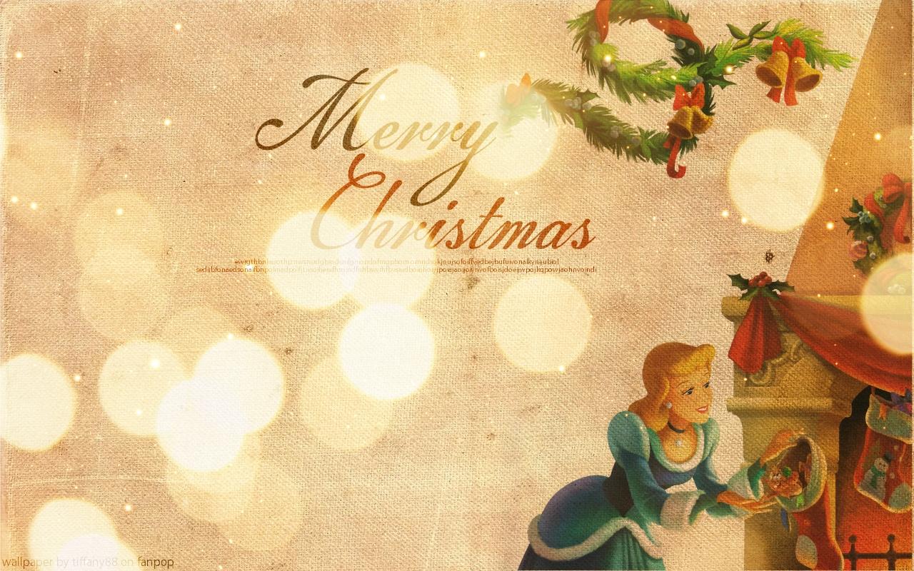 Cinderella's Christmas ~ ♥ - Disney Princess Wallpaper (27631975 ...