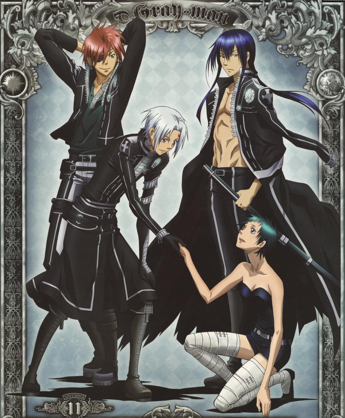 D gray man d gray man photo 27649270 fanpop - D gray man images ...