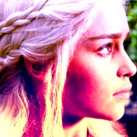 Daenerys in 1x07 'You Win of u Die'