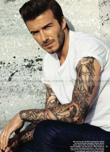 David Beckham Hello