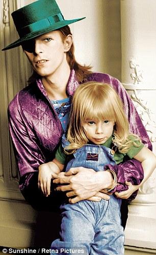 David and Zowie - David Bowie Photo (27662711) - Fanpop