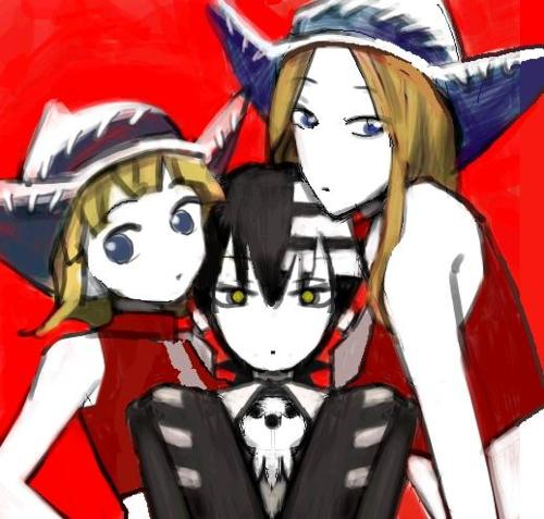 Death the Kid and the Thompson Sisters