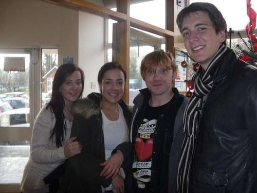 Dec13: Sainsbury contest visit