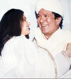 Dimple Kapadia & Super 별, 스타 Rajesh Khanna