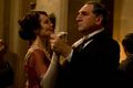 Downton Abbey Christmas Carson and Lady Granthom - downton-abbey photo