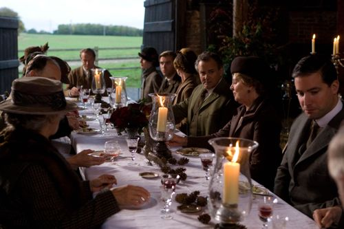 Downton Abbey Christmas Special Lunch