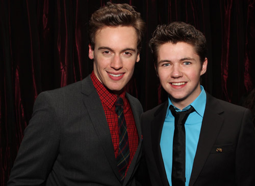 Erich Bergen and Damian McGinty