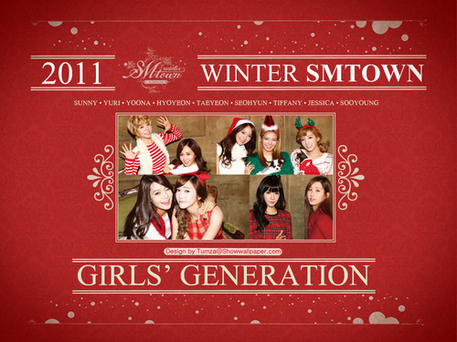 "GIrls' Geenration SM Entertainment Winter Album ""The Warmest Gift"""