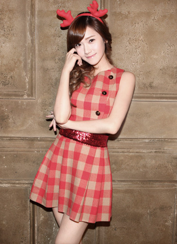 "Girls' Generation Jessica SM Town Winter Album"" The Warmest Gift"""