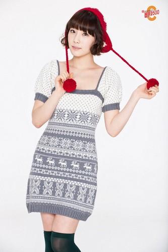 Girls' Generation Taeyeon Vita500 Christmas