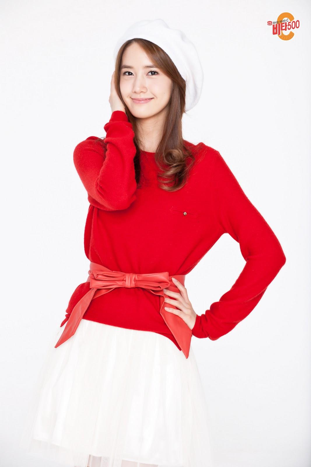 Girls' Generation Yoona Vita500 圣诞节