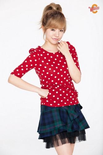Girls' Generation Sunny Vita500 Christmas