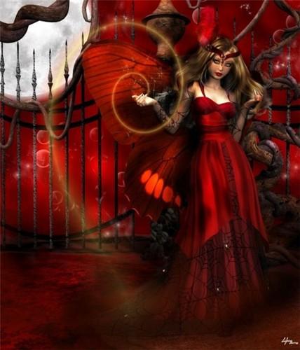 Готика red Фэнтези