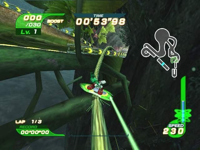 Коды Sonic Riders