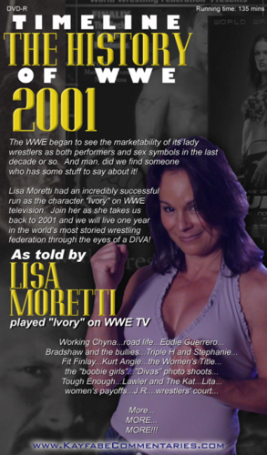 wwe Former Diva Ivory wallpaper probably containing anime called I-V-O-R-Y