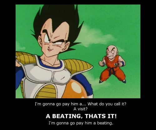 I'm gonna go pay'em a beating...