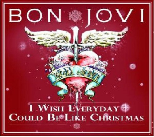 I wish every 日 could be like christmas/jon bon jovi/dec.2011