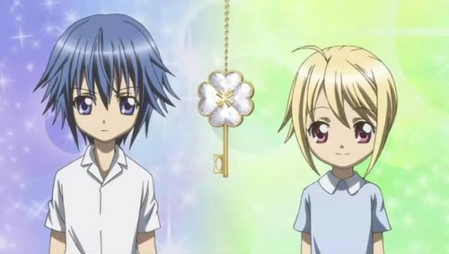 Ikuto Tsukiyomi wallpaper containing anime called Ikuto & Tadase